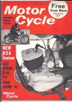 MOTOR CYCLE - MOTORCYCLE MAGAZINE - 21ST JULY 1966 - M1255